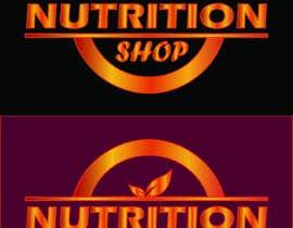 Nro 96 kilpailuun Design a Logo for Nutrition Shop käyttäjältä primitive13