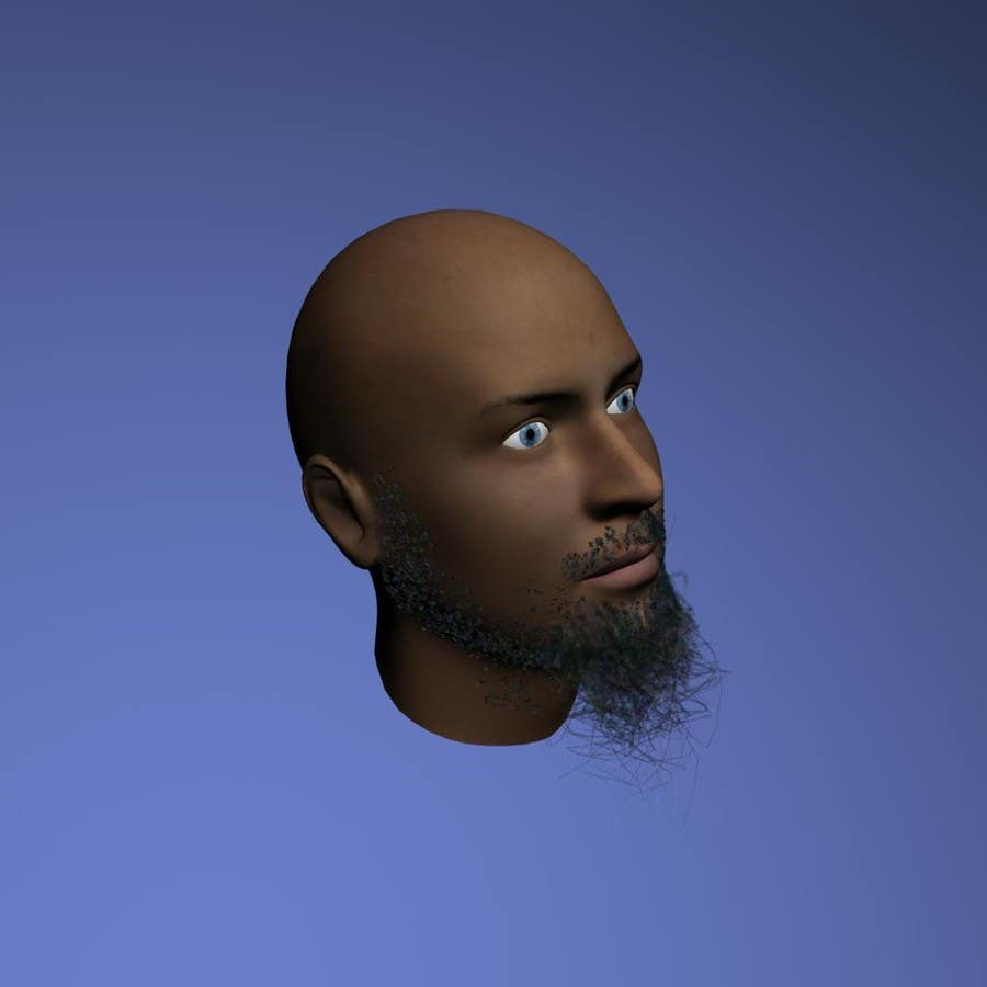 #19 for Create realistic 3D beard for interactive viewing by handras88