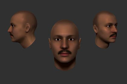 #5 for Create realistic 3D beard for interactive viewing by DedaDjoka
