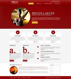 Graphic Design Contest Entry #1 for Design a Website Mockup for LawFirm