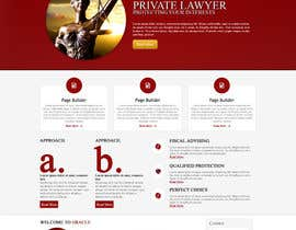 #1 para Design a Website Mockup for LawFirm por designsproject