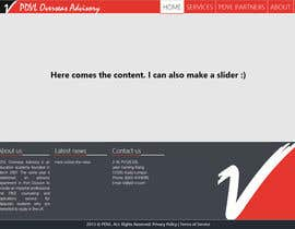 nº 18 pour Home Page Design par mihaieparu