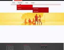 nº 24 pour Home Page Design par arman0464