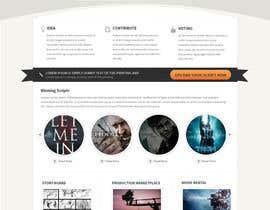 #2 para Design a Website Mockup por tania06