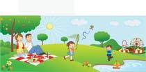 Graphic Design Konkurrenceindlæg #14 for Illustration Design for Bambino Brands Facebook Timeline