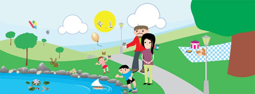 Inscrição nº                                         25                                      do Concurso para                                         Illustration Design for Bambino Brands Facebook Timeline