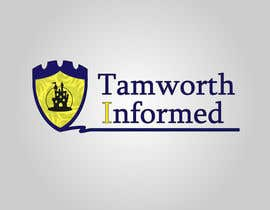 #24 for tweak / finish/ improve a Logo for Tamworth Informed - news blog by redkanvas