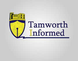#33 for tweak / finish/ improve a Logo for Tamworth Informed - news blog by redkanvas