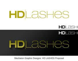 #281 for Design a Logo for HDlashes or (hdlashes, HD-lashes, hd lashes, hdlashes.com) by Mechaion