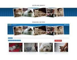 Nro 7 kilpailuun Top on the website of animals käyttäjältä dsquarestudio