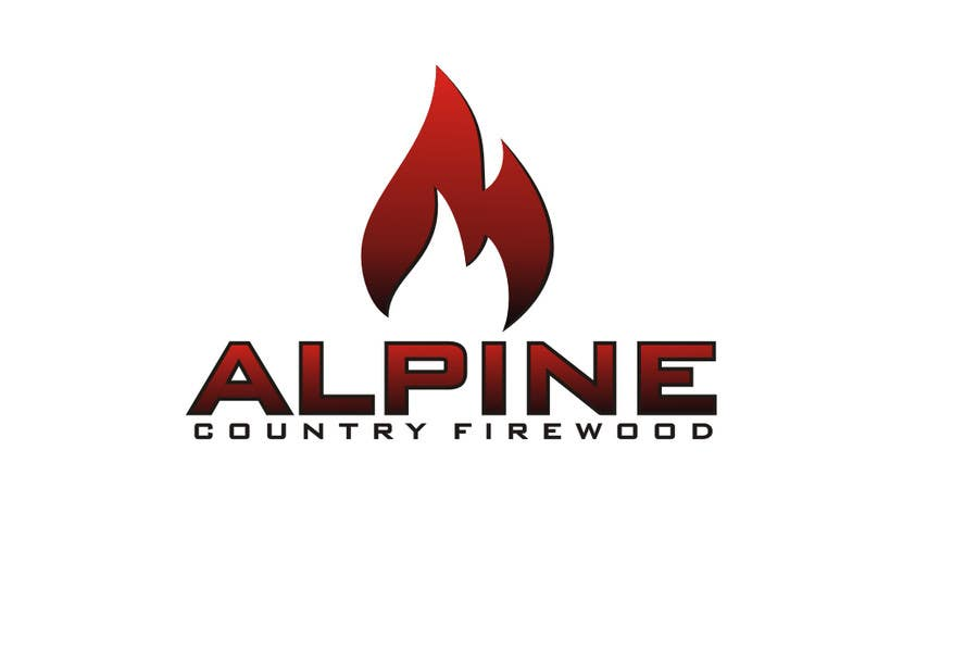Entri Kontes #162 untukLogo Design for Alpine Country Firewood
