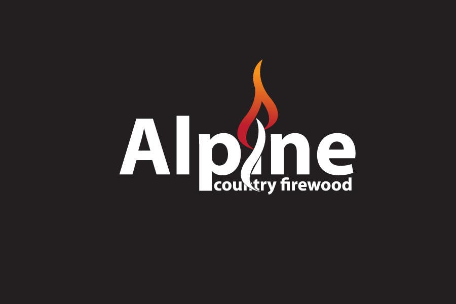 Entri Kontes #298 untukLogo Design for Alpine Country Firewood