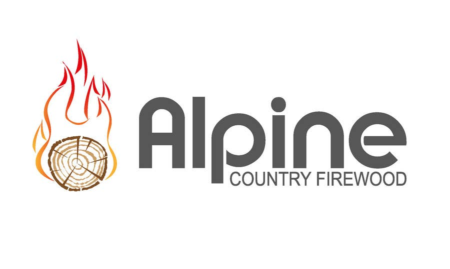 Entri Kontes #231 untukLogo Design for Alpine Country Firewood