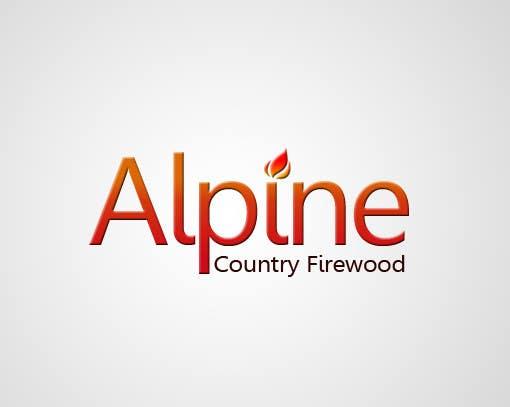 Entri Kontes #158 untukLogo Design for Alpine Country Firewood