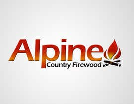 #157 untuk Logo Design for Alpine Country Firewood oleh Ladydesign