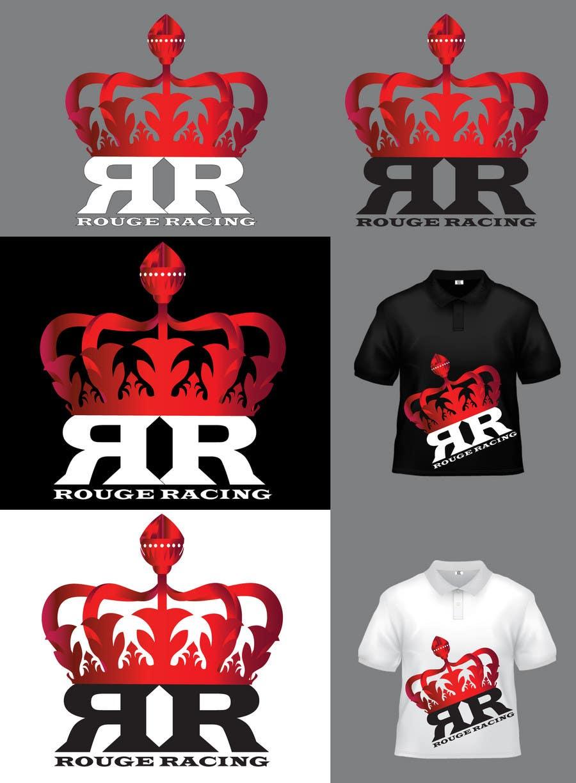 Kilpailutyö #247 kilpailussa Logo Design for Rogue Racing