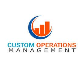 nº 50 pour Design a Logo for a Software Service - 'Custom Operations Management / CustomOps' par Greenit36