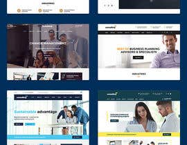 hero2199 tarafından Design a Wordpress template for a new job executive search company -- 2 için no 5