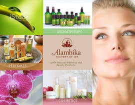 #11 para Design a Brochure for our new line Alambika por sunanda1956