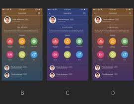 Nro 10 kilpailuun Design an App Mockup käyttäjältä UniateDesigns