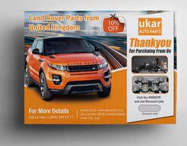 #63 for Design a Flyer for online Land Rover auto parts store. by stylishwork