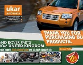 dekaszhilarious tarafından Design a Flyer for online Land Rover auto parts store. için no 47