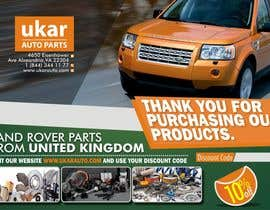 #57 for Design a Flyer for online Land Rover auto parts store. by dekaszhilarious