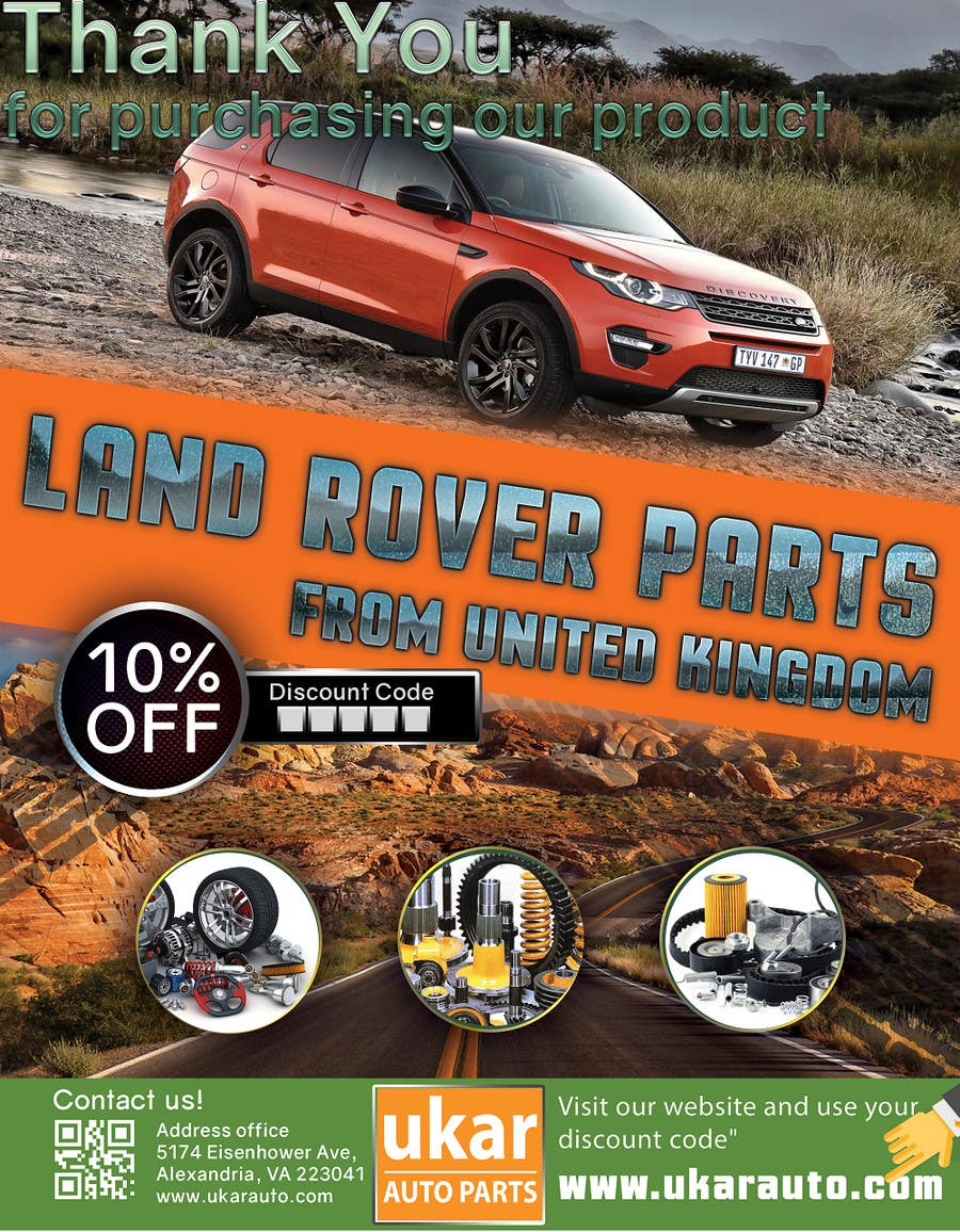 for by flyer contest land store landrover parts a online entry rover design byentry auto