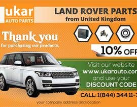 #48 for Design a Flyer for online Land Rover auto parts store. by ravi05july