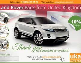 zhoocka tarafından Design a Flyer for online Land Rover auto parts store. için no 39