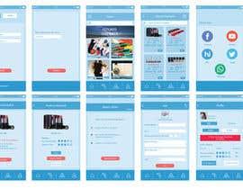 Nro 32 kilpailuun Design an App UI/UX käyttäjältä merakinfowayltd