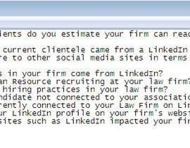 #4 para Law Firm Use of Linked In por hmarieagency