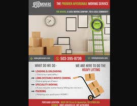 natspearldesign tarafından Design a flyer for a moving company için no 11