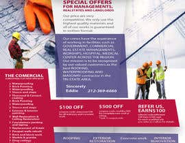#18 cho UNIQUE UNIQUE - Design a Flyer for construction company bởi tania06