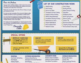 nº 24 pour UNIQUE UNIQUE - Design a Flyer for construction company par marcia2