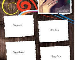 #6 for Design a flyer for a nail product with a four step process. af ngahoang