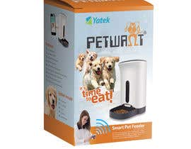 Crissmamel tarafından Create Print and Packaging Designs: Automatic Pet Feeder için no 4