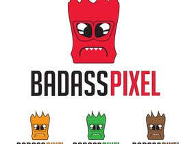 "#51 untuk Design a cartoon Logo for game society ""badasspixel"" oleh navadeepz"