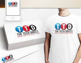 nº 99 pour Logo Design for The Tech Direct par aleksandardesign