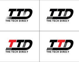 #151 cho Logo Design for The Tech Direct bởi GDesignGe
