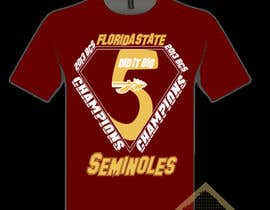 #3 for Design a T-Shirt for FSU BCS Champs af TSZDESIGNS