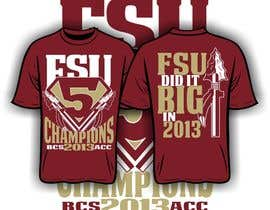 #13 for Design a T-Shirt for FSU BCS Champs by iYNKBRANE