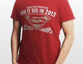 nº 10 pour Design a T-Shirt for FSU BCS Champs par mMm24hours