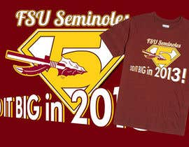 Othello1 tarafından Design a T-Shirt for FSU BCS Champs için no 4