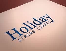 ADesing tarafından Logo for website called 'holiday string lights' için no 20