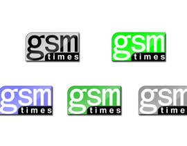 #77 for Logo Design for GSM Times af bogdanarhi