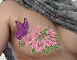 zoeyfae tarafından Design a tattoo to cover breast cancer surgery scars için no 26