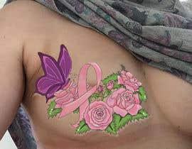 Nro 26 kilpailuun Design a tattoo to cover breast cancer surgery scars käyttäjältä zoeyfae