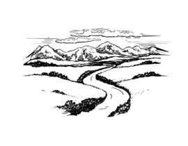 lucianoluci657 tarafından River and mountain illustration için no 5