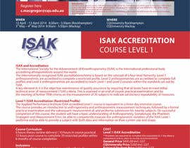 #2 cho Design a Brochure for an Level 1 ISAK course the will be used as a PDF brochure only bởi barinix